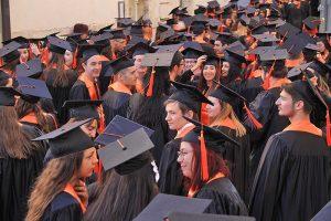 cérémonie des diplômés